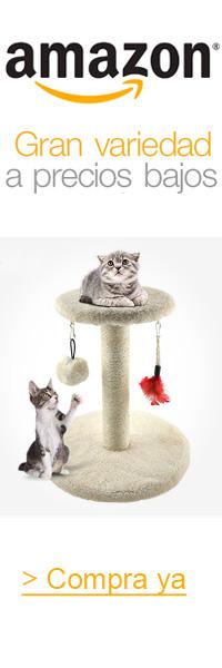 rascadores para gatos Amazon