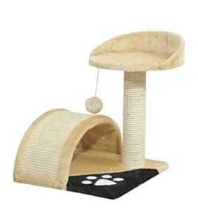 árbol con cama para gatos