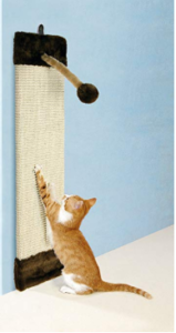 rascador de pared para gatos de Amazon