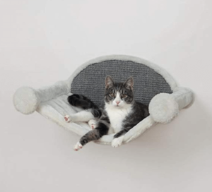 hamaca de pared para gatos