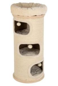 barril rascador para gatos
