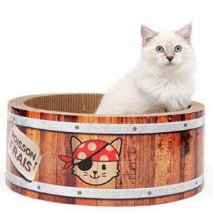 rascadores de cartón para gatos