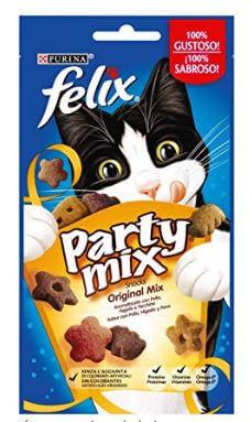 snack para gatos felix