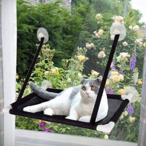 hamaca colgante para gatos Afufu